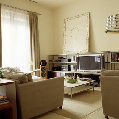 Estudio-Sala estar Ciutat Vella Barcelona