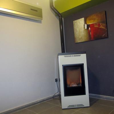 Estufa/caldera de pellet
