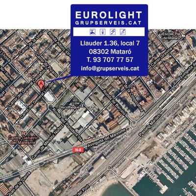 Eurolight Grupserveis.cat Dónde estamos