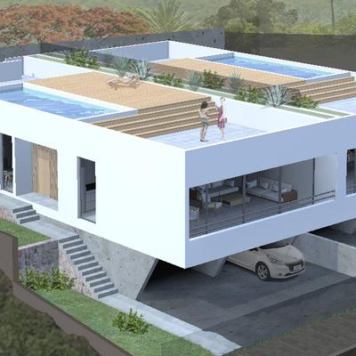 Proyecto de obra nueva Villa Lorenzo