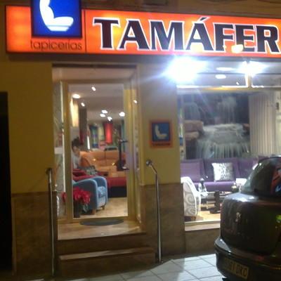 exterior tienda  TAMÁFER TAPICERIAS