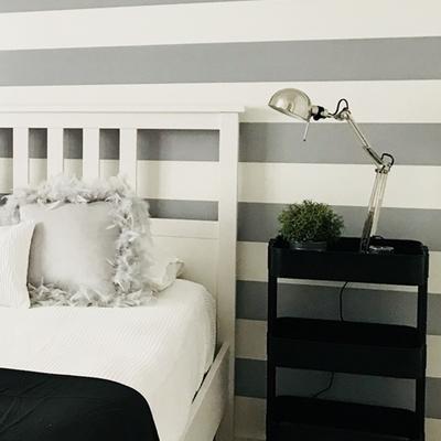 Proyecto decorativo de un dormitorio