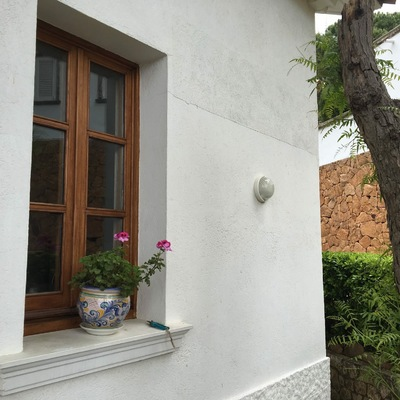 Reparacion grietas fachada La Gavina ANTES