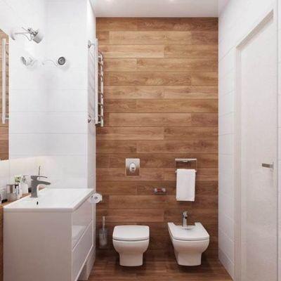 baño ceramica /madera