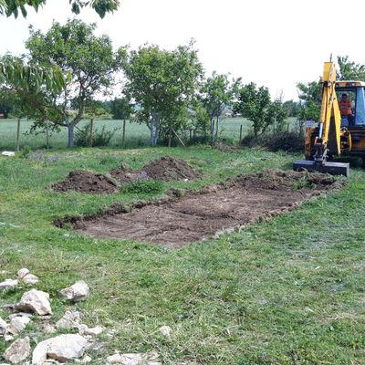 Excavacion de porche