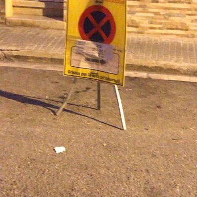 Prohibido aparcar!!