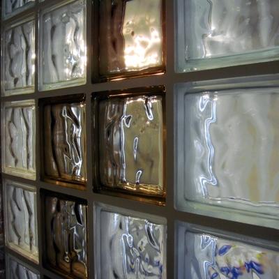 Fábrica de bloque de vidrio o pavés