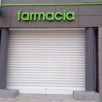 fabricacion de cierres para farmacias