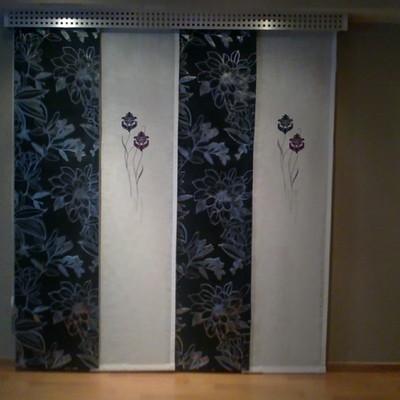 Fabricación de cortinas