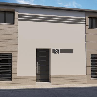 Reforma y diseño de fachada para vivienda unifamiliar.