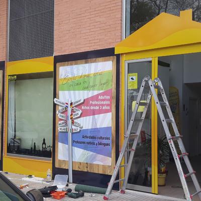 Revestimiento de fachada en San Vicente del raspeig