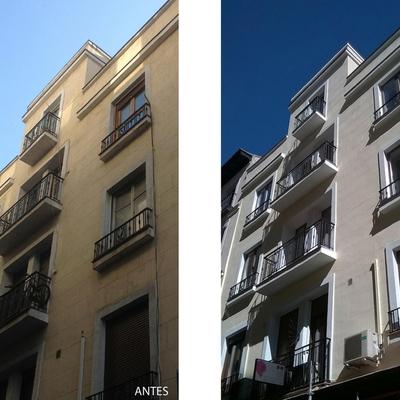Rehabilitación de edificio en C/ San Bartolomé (Madrid)