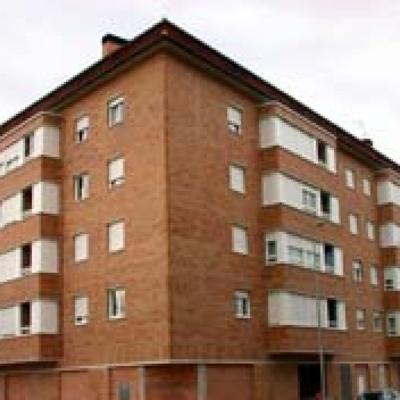 fachada de viviendas en caravista