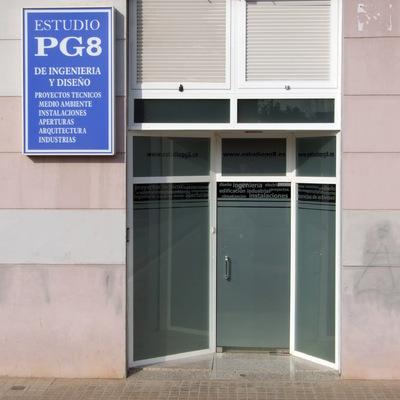 Fachada del Estudio PG8