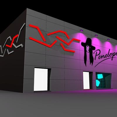 Fachada discoteca Penelope Alcazar de San Juan