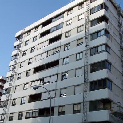 Fachada edificio Pamplona