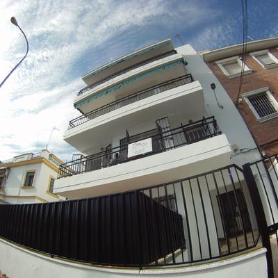 Fachada en Calle Diego de la Barrera