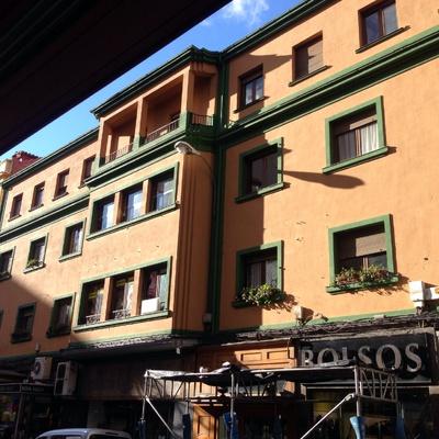 Fachada en el centro de León