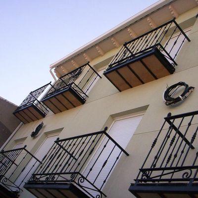 fachada en monocapa