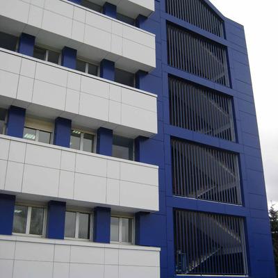 Fachada Hospital de Zumárraga