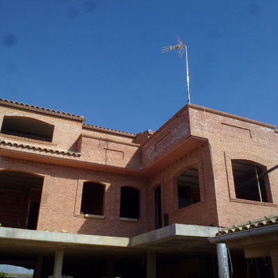 fachada interior de casa