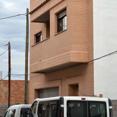 fachada rustica