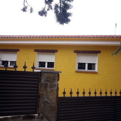 fachada,tejado y canalones