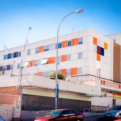 Fachada ventilada Barrio Juan XXII