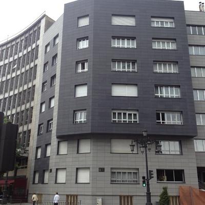 Fachada ventilada en Oviedo