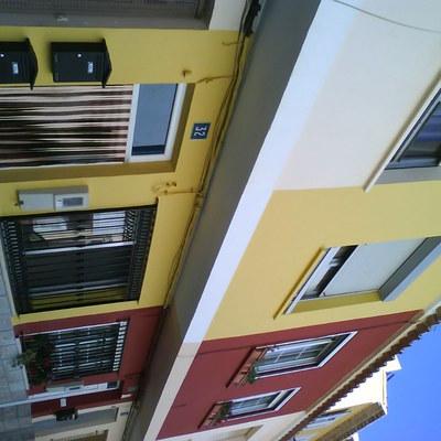 Fachadas de viendas unifamiliares en Altura - Castellon -