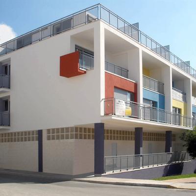Edificio de viviendas en Beniarbeig (Alicante).