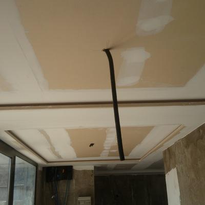 falso techo con fosa