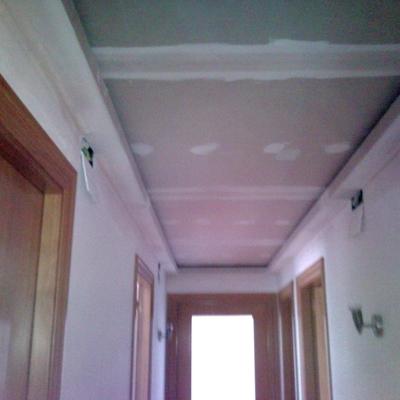 falso techo con foseado para retorno de aire acondicionado
