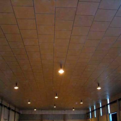 Falso techo de panel de aluminio de 1,20 x 1,20