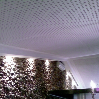 falso techo fonoabsorbente