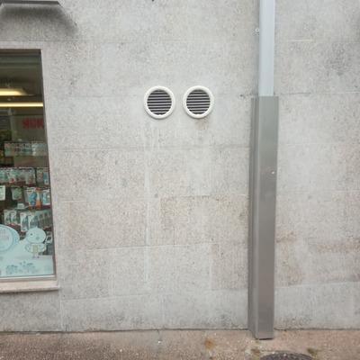 Bomba de calor sin unidad exterior para farmacia en Fontiñas