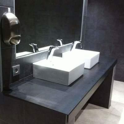 lavabo en servicio publico