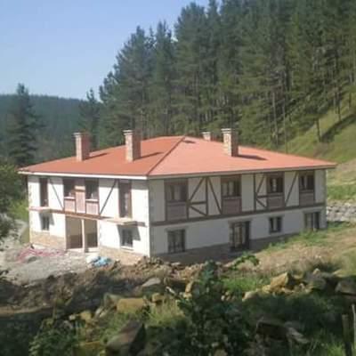 Caserio de Ibarruri(Muxika) despues de la rehabilitacion