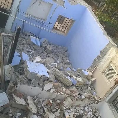Derribo total de casa independiente en Monserrat