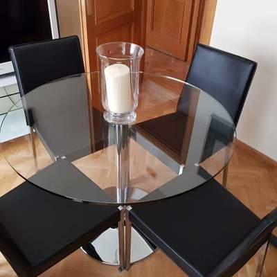 Mesa delicada cristal