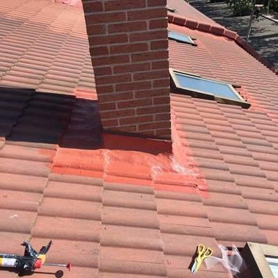 reparación de tejado caucho y maya