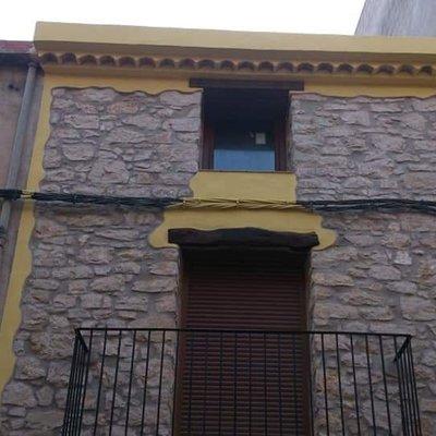 Reformas fachada casa rustica !!!