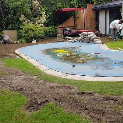 Reforma del jardin