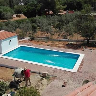 Restauración de piscina