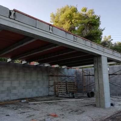 Construccion garaje