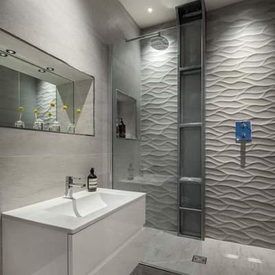 Alicatado baño estilo
