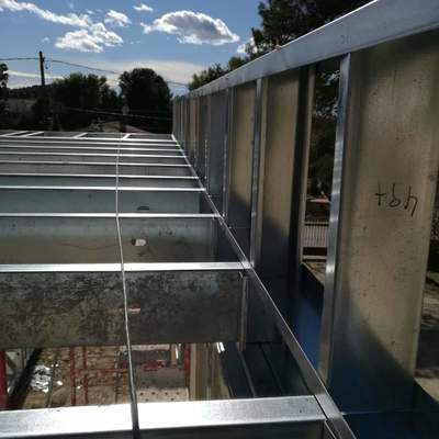 Steel framing cubierta