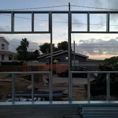 Steel framing fachada