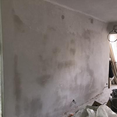 Alisado de paredes piso