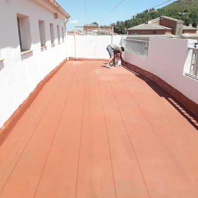 Pintura de terraza
